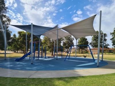 Reliable Com 95 shade cloth install at Gungurru Park Western Australia
