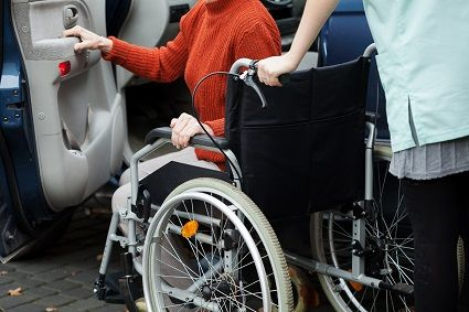 Nylon Fabric used on seating of Wheelchair
