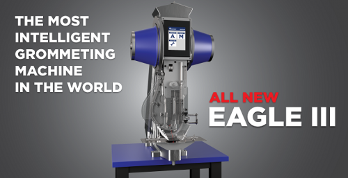 Eagle III 2.0 Automatic Grommet Machine