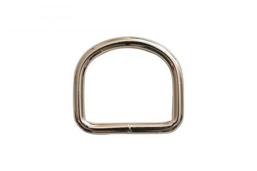 50mm x 7mm Steel D-Ring