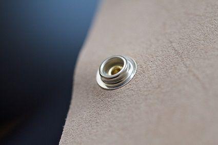 Press Stud on Cloth