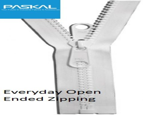 No 10 EVERYDAY Moulded OPEN END Zip
