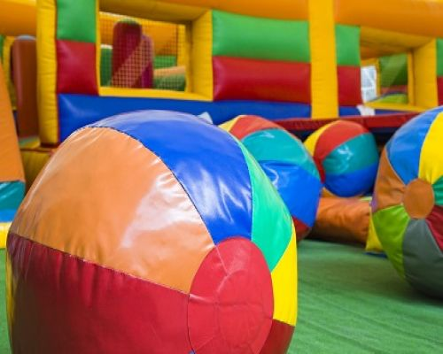 Playcentre Equipment made from PVC coated Farbics