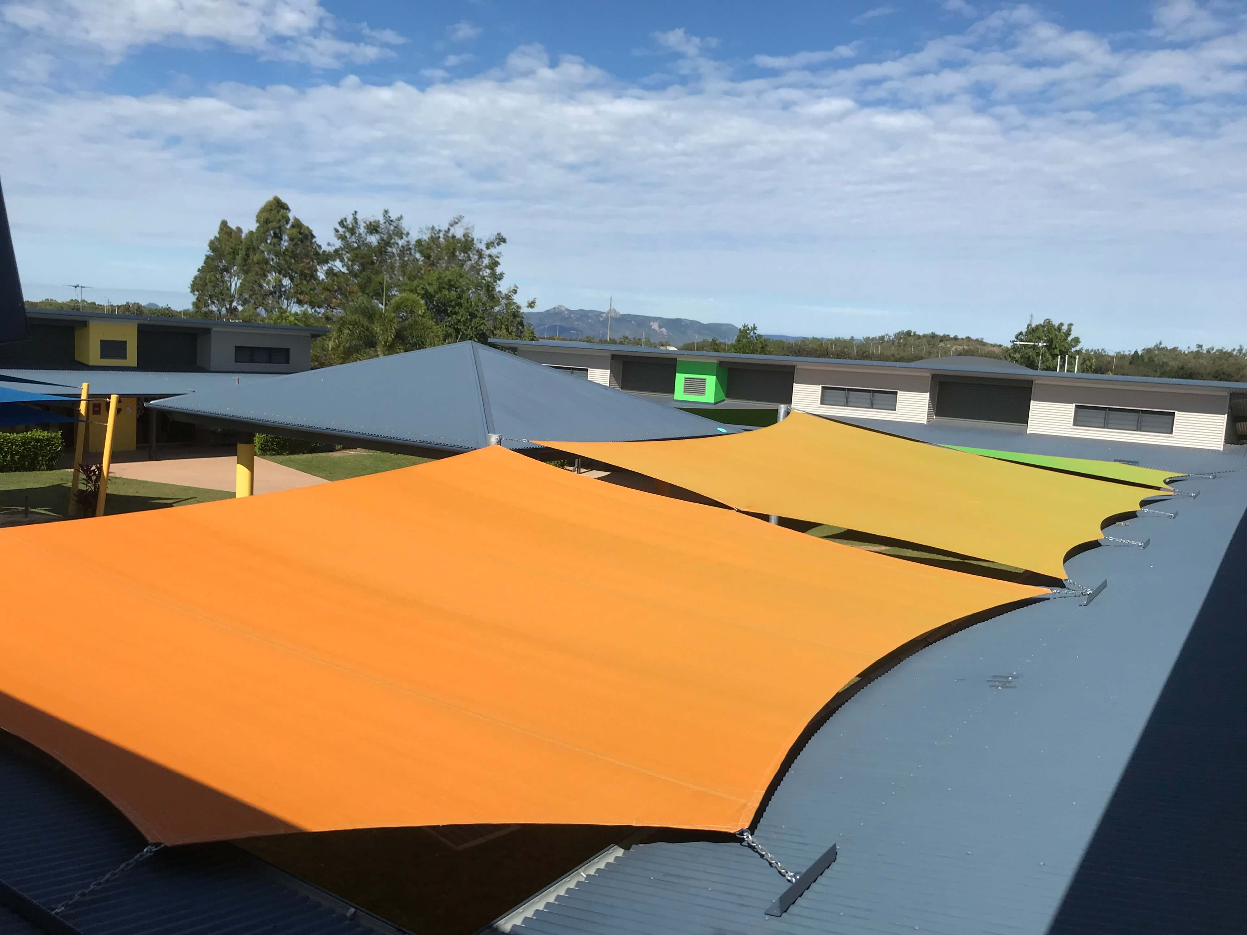 awesome use of Gale Dual Shade done by Ede Shade Solutions in Townsville, Queensland.
