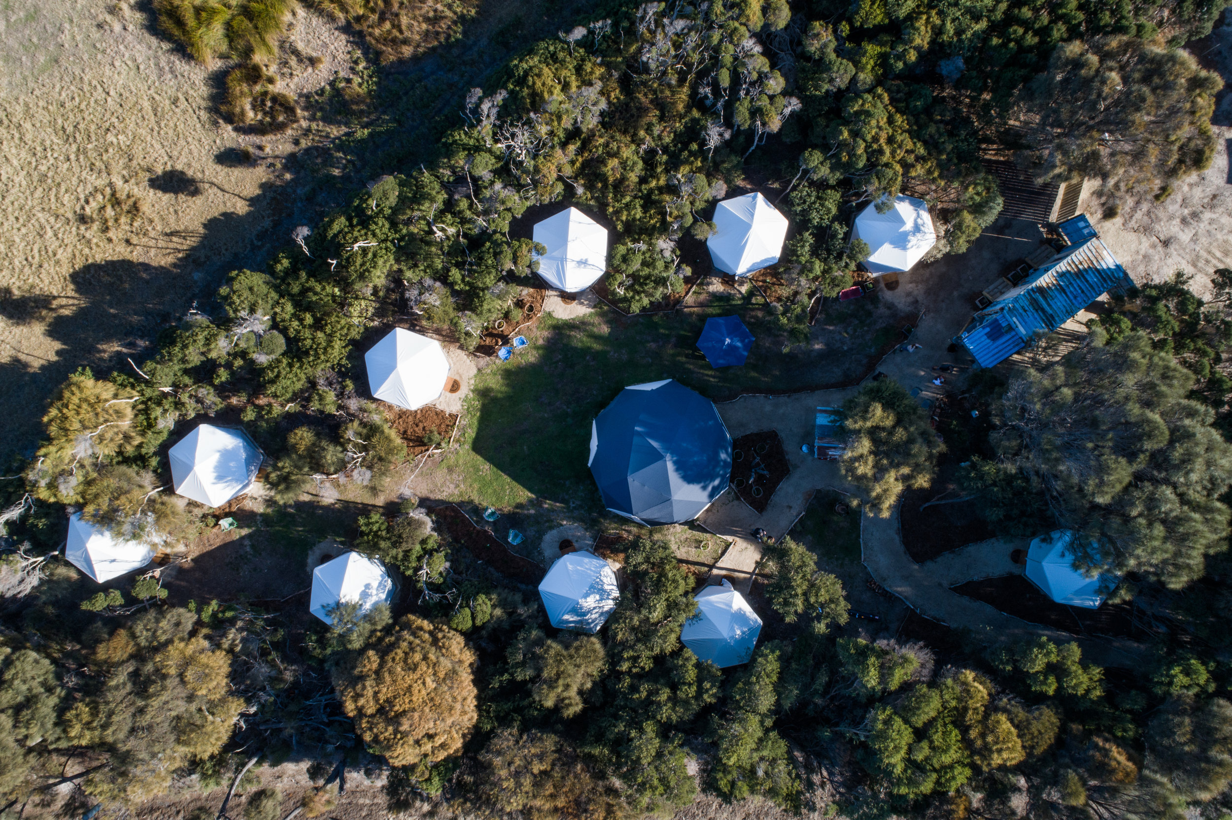 An amazing use of WeatherMax 80 Marine Fabric on Flinders Island, Tasmania