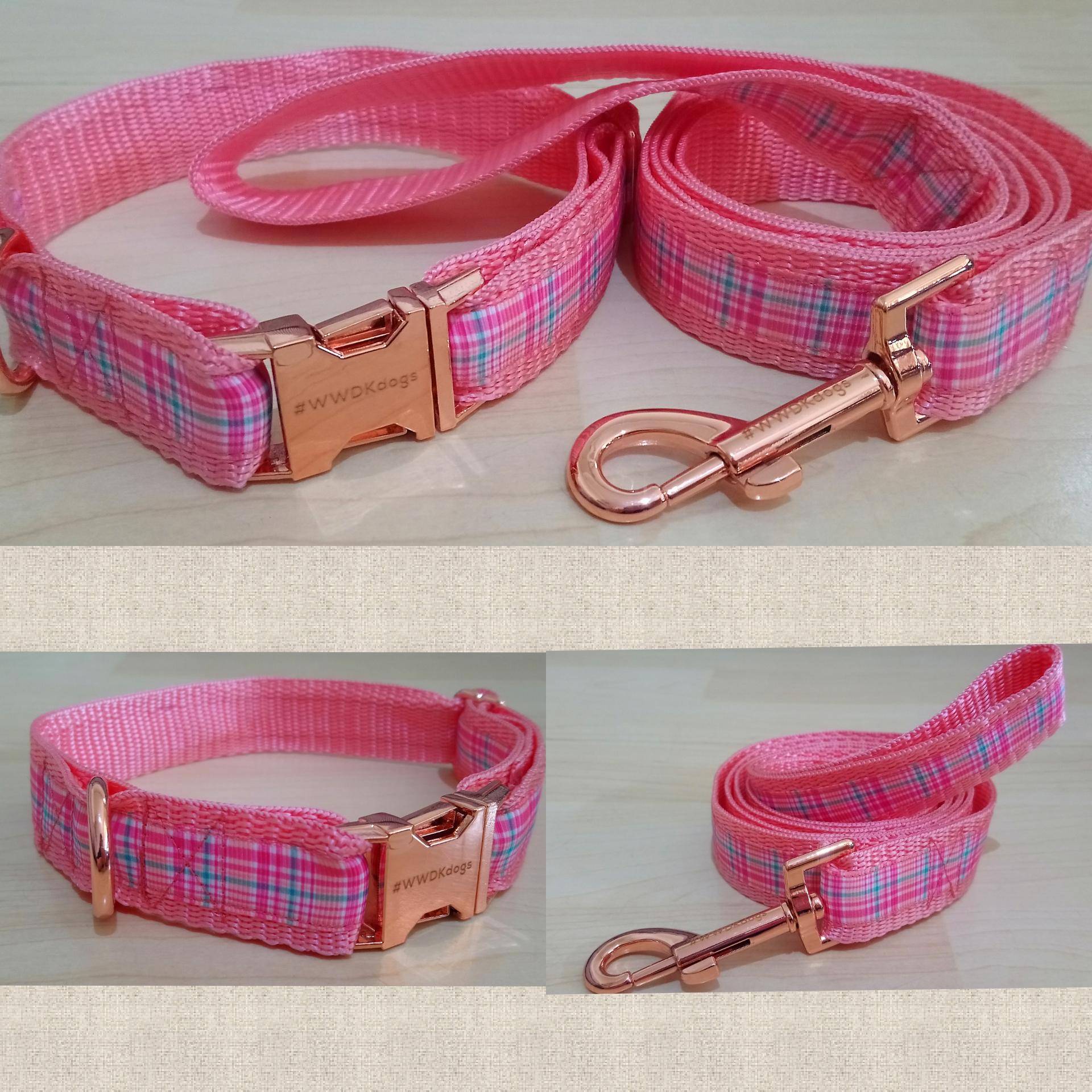 Pink Polypropylene webbing used by Westie Wear Dog Kilts in Perth, Western Australia