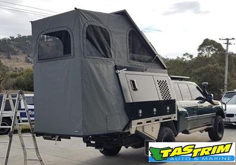 Roof top camper - Tasmania